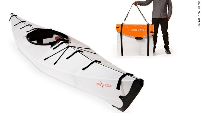 Whoever knew that origami and transport were such good friends? The art of folding offers a dynamic solution for on-the-go city dwellers with limited space. One such offering is the Oru Kayak -- a rigid, fully functioning kayak that folds up to form its own carry case.