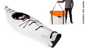 Origami inspired foldable kayak