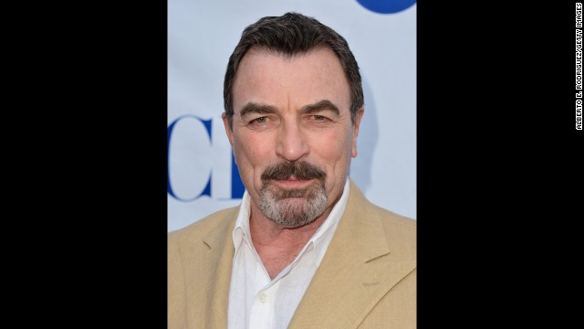 "At 68, Tom Selleck is just as sexy as he was back in his ""Magnum, P.I."" days. (We think it has something to do with the mustache.) Even his 20-acre avocado ranch is ""vaguely sexual,"" as he told Conan O'Brien in 2011."