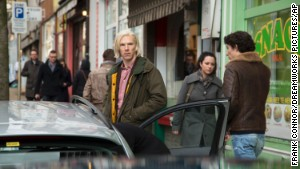 Benedict Cumberbatch plays WikiLeaks founder Julian Assange in \