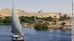 River Nile: Egypt is promoting itself as a luxury destination.
