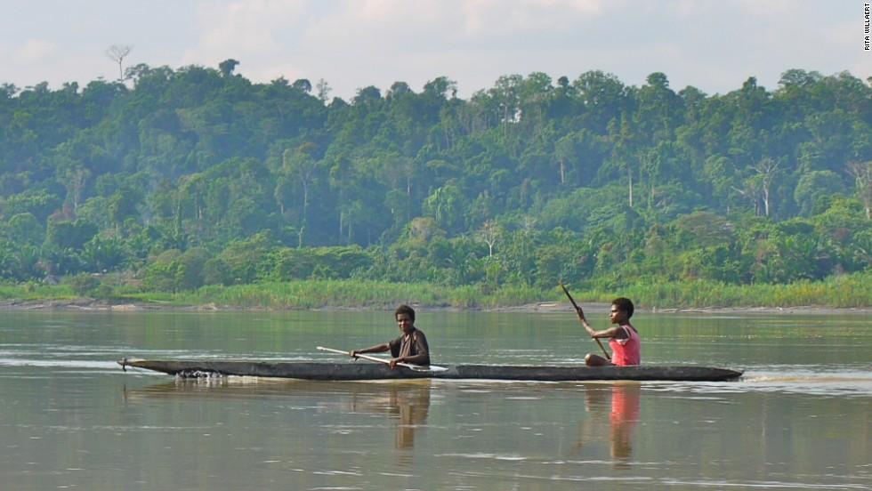 4. Río Sepik (Papúa Nueva Guinea, Indonesia)