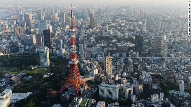 Tourism is up 21% in the Japanese capital over last year. The city's winning bid for the 2020 Olympics is expected to keep that ball rolling.