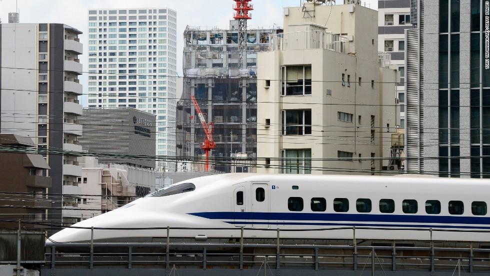 Los trenes veloces de Japón