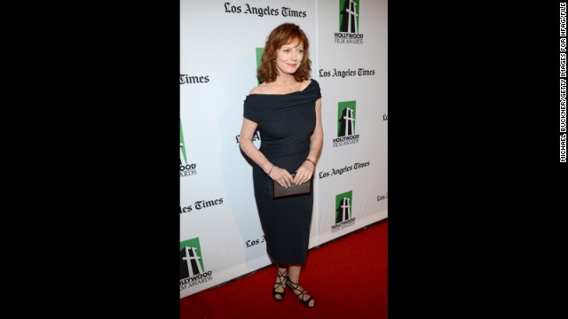 "Susan Sarandon was once told her sexy days would soon come to an end before she even turned 40, and <a href='http://www.people.com/people/article/0,,20580238,00.html' target='_blank'>the actress recalled last year</a> that she (rightly) laughed at the notion. Now 67, Sarandon says sensuality is ""really more of an attitude than it is being naked,"" she told People magazine. ""I'm happy to be considered desirable. I love it!"""