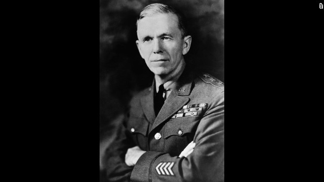 Gen. George Catlett Marshall of the U.S. Army won the Nobel Peace Prize in 1953.