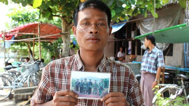 Cyclone Nargis also separated families. Soe Paing said after the cyclone he sent some of his children to a monastery in Yangon. While there, his eldest son was lured into the army by recruiters. He was just 13.