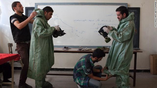 Gran Bretaña ayudará a destruir químicos sirios