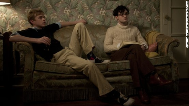 "Daniel Radcliffe, right, as Allen Ginsberg in ""Kill Your Darlings"""