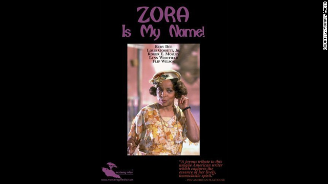 "Ruby Dee as Zora Neale Hurston in ""Zora is my Name!"""