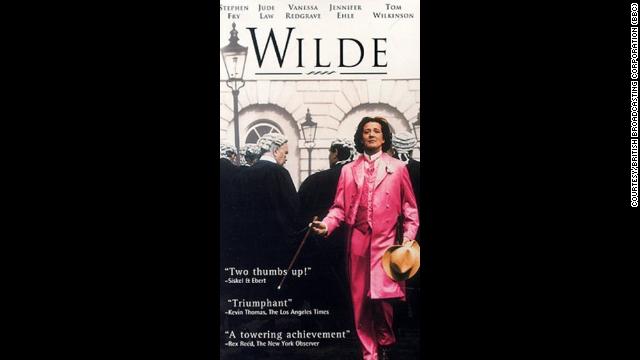 """Stephen Fry as Oscar Wilde in """"Wilde"""""""