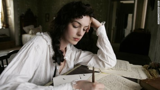 "Anne Hathaway as Jane Austen in ""Becoming Jane"""