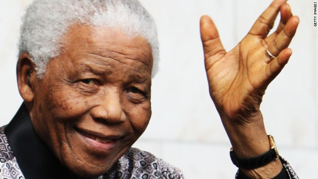 Nelson Mandela, the anti-apartheid campaigner, served as the first black President of South Africa between 1994 to 1999. He was awarded an honorary Ibrahim Prize in 2007.