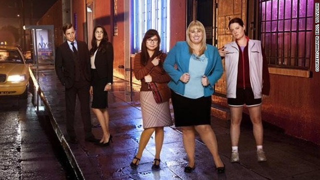 "Australian actress Rebel Wilson, second from right, is beloved by American audiences for her hilarious presence in movies ""Bridesmaids"" and ""Pitch Perfect."" Yet Wilson has some small-screen experience, too, and she's proved it with the ABC comedy ""Super Fun Night."""