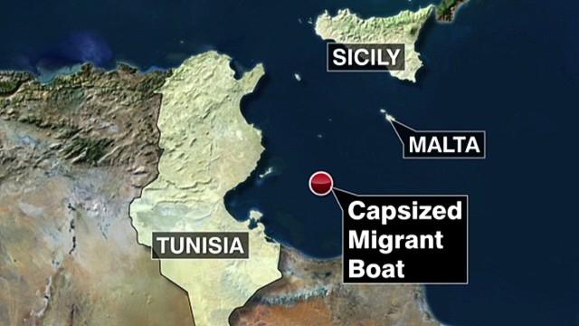 Sube a 31 la cifra de muertos en el naufragio de ayer en Lampedusa