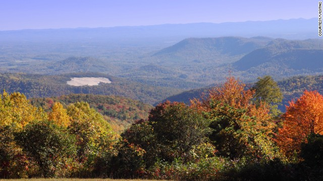 Stone Mountain State Park has more than 16 miles of trails and 20 miles of designated trout waters.