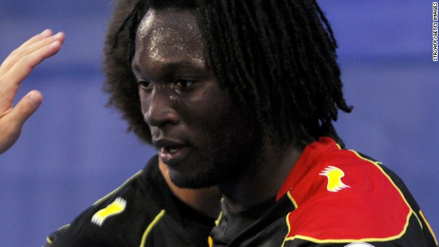 Romelu Lukaku scored both Belgium's goals in the 2-1 away win over Croatia which ensured their qualification for Brazil 2014.