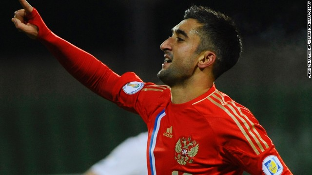 Alexander Samedov was on target for Russia as they boosted their qualification hopes with a 4-0 victory against minnows Luxembourg.