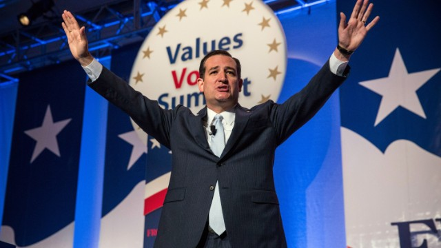 Ted Cruz wins Values Voter straw poll