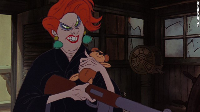 "In Disney's 1977 film, ""The Rescuers,"" Madame Medusa is a greedy, wicked proprietor of a seedy pawn shop. She abducts an orphan named Penny to help find the world's largest diamond, the Devil's Eye."