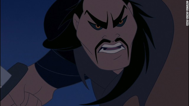 "Shan-Yu is a physically ruthless Hun chieftain in the 1998 film ""Mulan."" He may be one of be the most merciless villains in the Disney universe and is a cruel leader bent on conquering China."