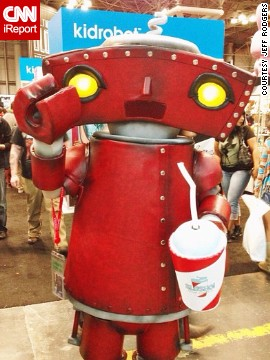 "Fans of J.J. Abrams' work will recognize this <a href='http://instagram.com/p/fXmrOlCDCn/' target='_blank'>""Bad Robot.""</a>"