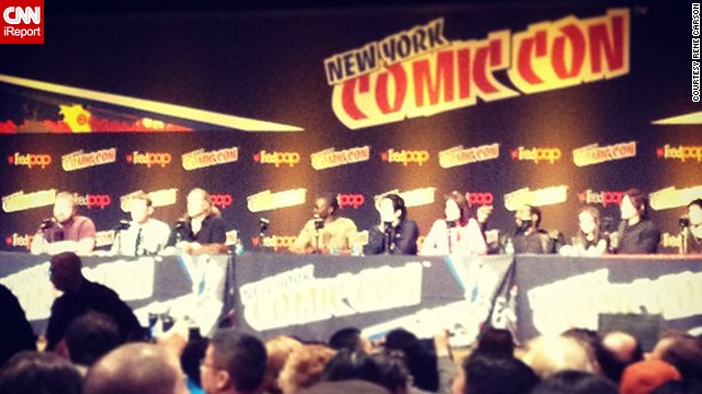 "Being the most popular scripted series on TV, ""The Walking Dead"" had a packed panel on Saturday, and even announced <a href='http://instagram.com/p/fZGFu1wokZ/' target='_blank'>two new actors</a> joining the show, Michael Cudlitz and Josh McDermitt."