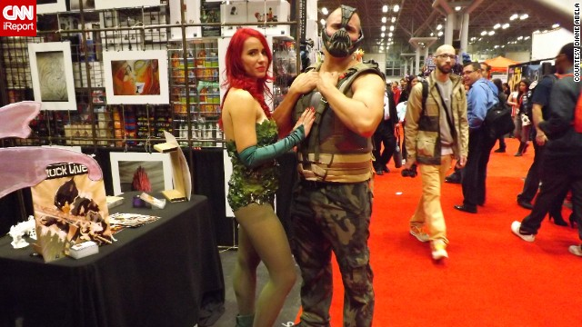 Two of Batman's archenemies, <a href='http://ireport.cnn.com/docs/DOC-1047657'>Poison Ivy and Bane</a>.