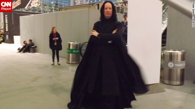 "It just wouldn't be a convention without an appearance from ""Harry Potter's"" <a href='http://ireport.cnn.com/docs/DOC-1047657'>Severus Snape.</a>"