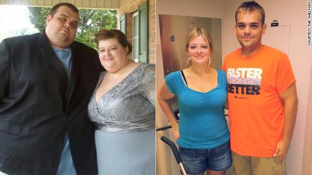 In February 2012, Justin and Lauren Shelton began a 19-month journey to take control of their health. The couple <a href='http://www.cnn.com/2013/10/14/health/weight-loss-sheltons/index.html'>lost a combined 538 pounds</a> by overhauling their diets and hitting the gym.