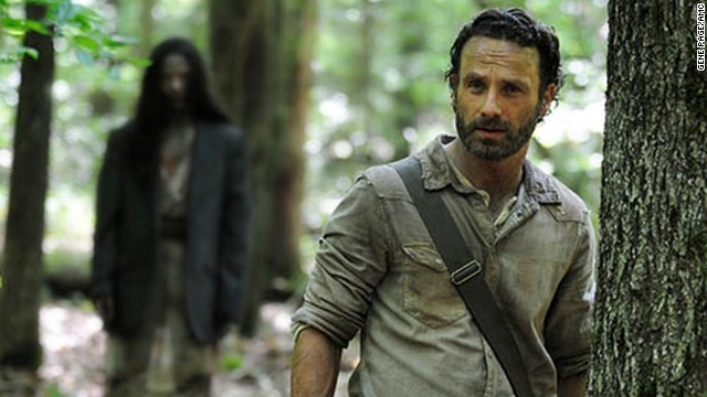 Rick Grimes (Andrew Lincoln) in Episode 1 of season 4 of