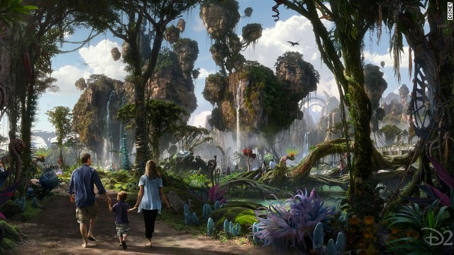 Walt Disney Imagineering is working with filmmaker James Cameron and Lightstorm Entertainment to bring the mythical world of Pandora -- floating mountains included -- to life at Walt Disney World Resort's Animal Kingdom.