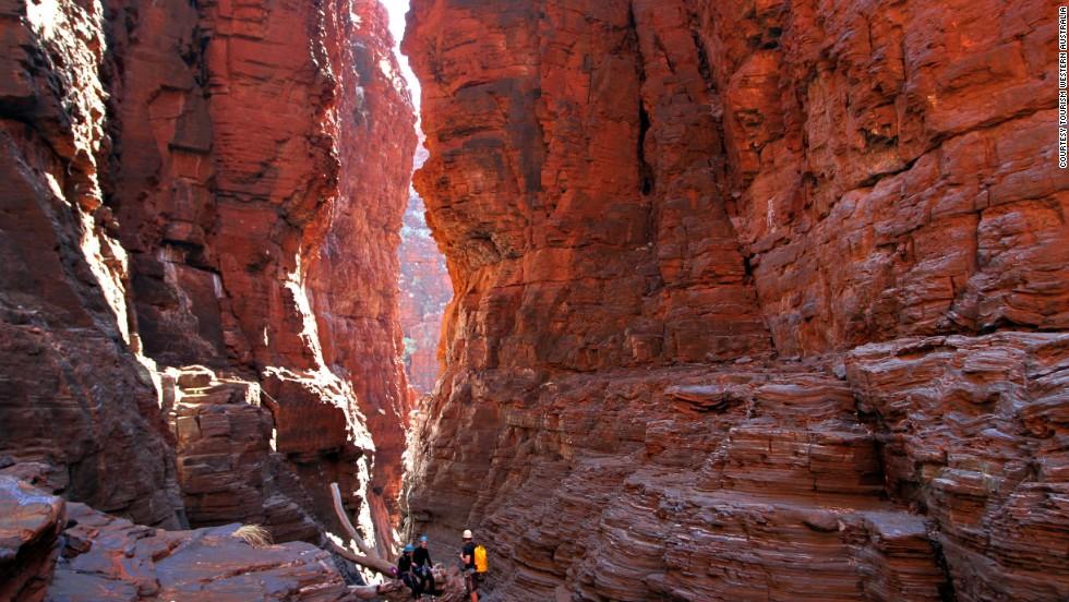 Parque Nacional Karijini, oeste de Australia
