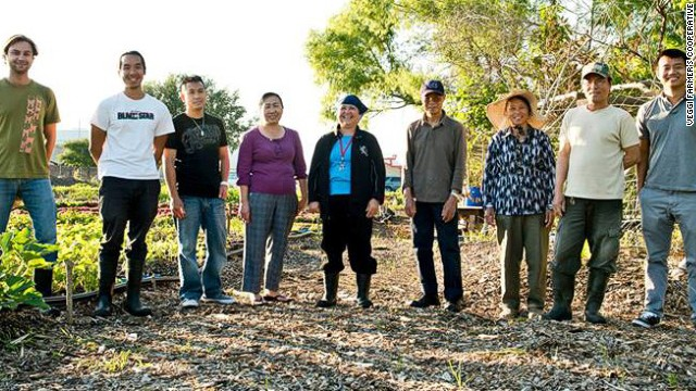 Urban farming roots community after BP spill