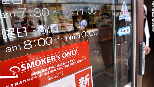 "The smaller and homier a bar or restaurant, the more likely it is to be smoker-friendly. Street patrols, however, stop people who engage in aruki-tabako, or ""walking-smoking."" Meanwhile, cracking open a beer or can of boozy chu-hai on the walk or train home is a cherished tradition."