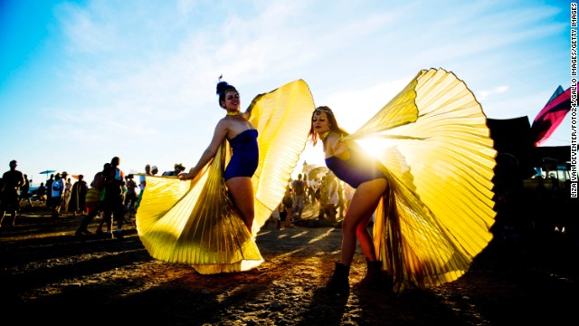 The AfrikaBurn Festival (pictured) in Tankwa Karoo is just one place you can see spectacular dance performances.