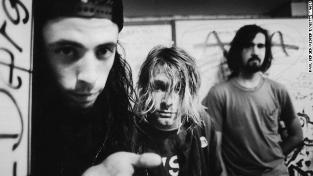 Nirvana is one of six acts selected for the Rock and Roll Hall of Fame. The others: