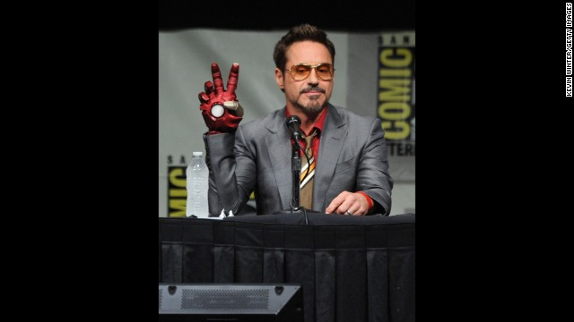 If Robert Downey Jr. keeps making Marvel movies, he might come close to amassing a fortune to rival his heroic character, Iron Man. The 48-year-old star has rebounded from his not-so-distant career lows to become <a href='http://www.forbes.com/sites/dorothypomerantz/2013/07/16/robert-downey-jr-tops-forbes-list-of-hollywoods-highest-paid-actors/' target='_blank'>the highest-paid actor in Hollywood this year</a>, earning an estimated $75 million.