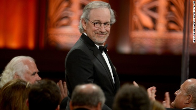 When it comes down to the financial king of Hollywood, legend Steven Spielberg is the man who wears the crown. The 66-year-old filmmaker is at the top of <a href='http://www.forbes.com/sites/dorothypomerantz/2013/09/12/steven-spielberg-tops-forbes-list-of-entertainments-top-earning-men/' target='_blank'>Forbes' list of the highest-paid male celebrities</a>, with an estimated $100 million to his name in the past year.