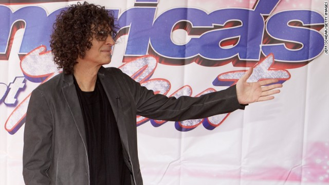 """America's Got Talent"" judge and radio star Howard Stern. Along with Cowell, 59-year-old Stern is No. 1 on <a href='http://www.forbes.com/sites/dorothypomerantz/2013/08/08/simon-cowell-and-howard-stern-top-our-list-of-highest-paid-tv-personalities/' target='_blank'>Forbes' list of top-earning TV personalities for 2013. </a>"