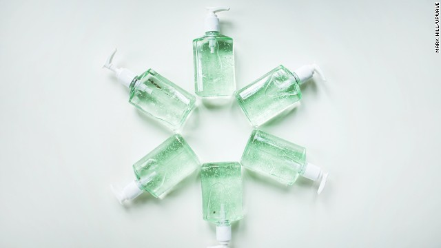 They're not a cure-all, but if you can't wash your hands, a squirt of an alcohol-based hand gel is ok, one expert says.