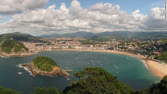 """Basque beauty"" San Sebastián tied for fifth place. ""All you need to do here is eat, eat and eat."""