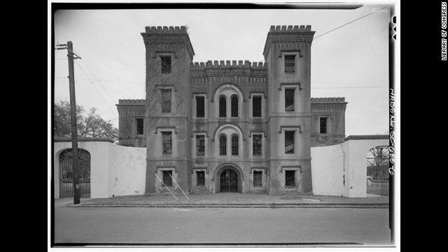 Charleston has many tours dedicated to its ghostly history. Famous former prisoners at the Old City Jail (shown here) include Lavinia Fisher, often considered America's first female mass murderer.