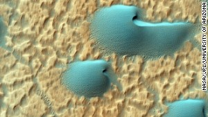 Weirdest things recently found on Mars