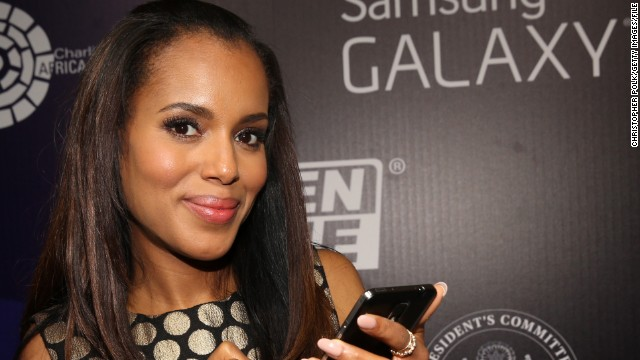 'Scandal' star Kerry Washington on gay rumors