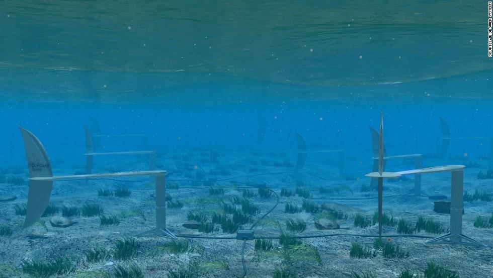 Turbina de marea