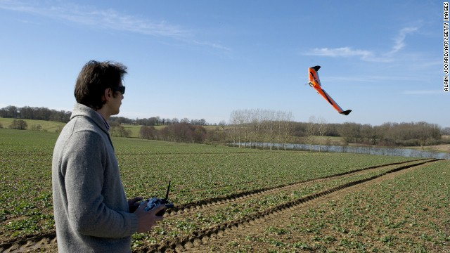 <strong>Lay of the land:</strong> time-draining agricultural tasks such as spraying pesticides could soon be left to UAVs, while surveillance drones are capable of <a href='http://money.cnn.com/2013/01/09/technology/drones/'>provide crucial information to help boost harvests</a>. This French drone is scanning crops to help farmers optimize water levels and fertilizer use. Or you could always use a heat-sensing drone to route out pests, <a href='http://www.nytimes.com/2012/02/18/technology/drones-with-an-eye-on-the-public-cleared-to-fly.html?pagewanted=all&_r=1&' target='_blank'>as one Louisiana hog-hunter has done</a>.