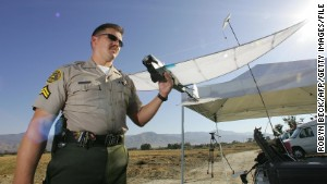 Los Angeles County Sheriff\'s Department began experimenting with the SkySeer Search and Rescue drone in 2006