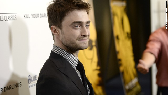 "Former ""Harry Potter"" star <a href='http://www.cnn.com/2013/10/16/showbiz/daniel-radcliffe-life-after-harry-potter/index.html?hpt=en_c1'>Daniel Radcliffe told CNN</a> he can identify with the poet Allen Ginsberg, whom he plays in the movie ""Kill Your Darlings."" ""I think most creative people like Allen basically veer between ambition and anxiety, between self-doubt and confidence,"" Radcliffe said. ""I definitely can relate to that, even if I don't have the extremes of confidence he has. He was calling himself a genius in his diary, at the age 14! I would never have said that about myself, even to myself. But we all go through that, 'Am I doing the right thing? Is this what (I'm) meant to be doing?' Hopefully in less extreme ways."""