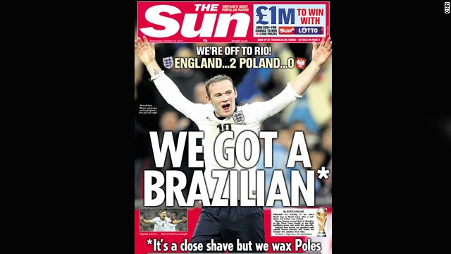 World Cup dreams: Should football be front page news?